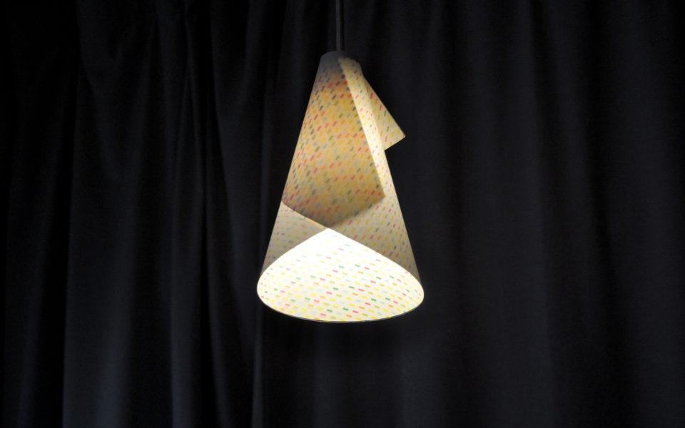 Paper Lampshade CORN