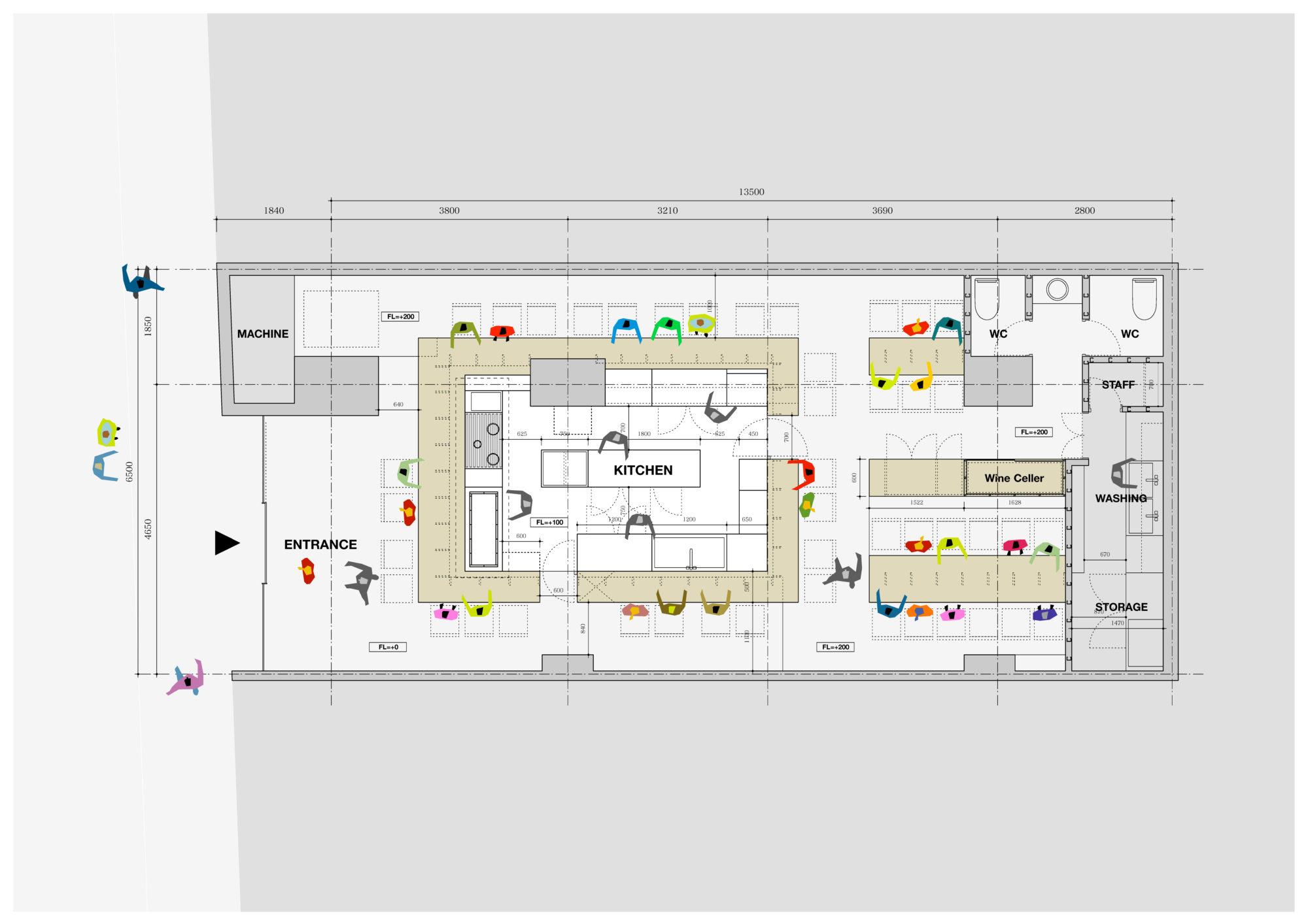 Number Shot Interior Design plan