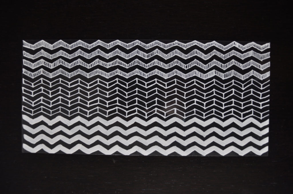Hand drawn pattern studies for product design
