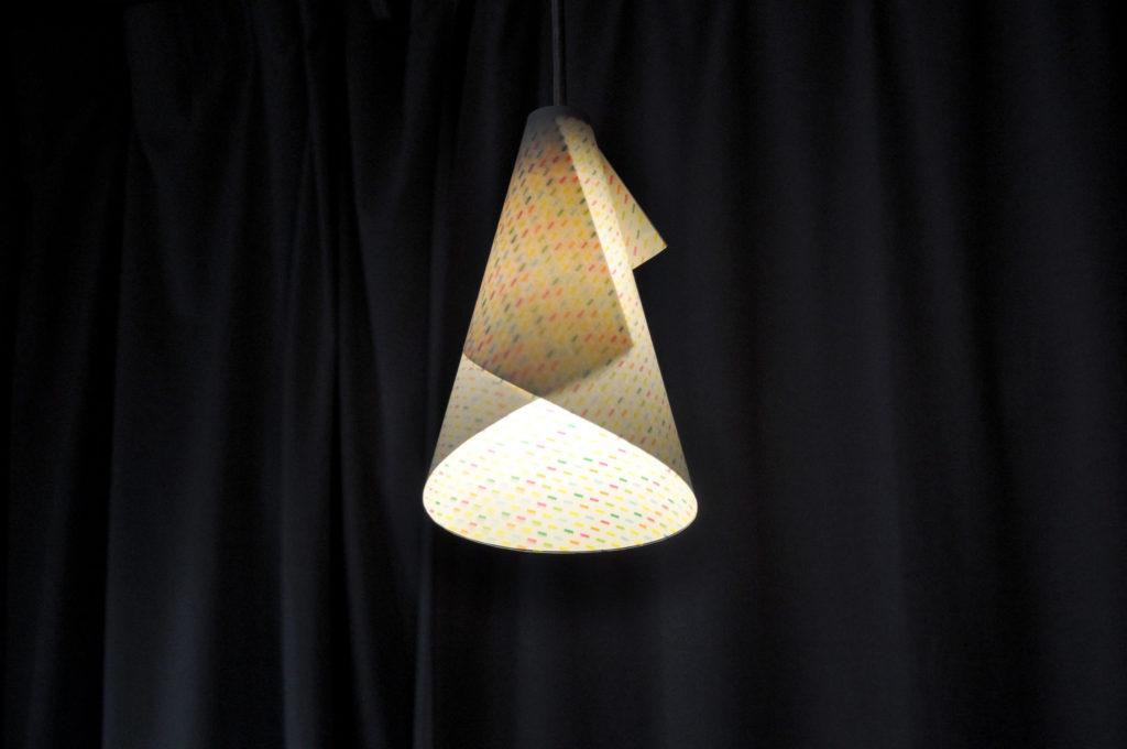 Paper lampshade corn works mosaic lampshade design b mondorampshadeb2 mozeypictures Gallery