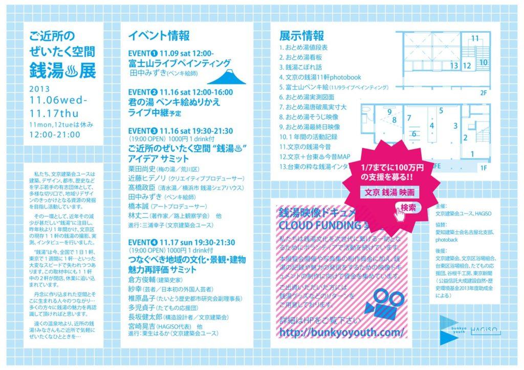 Design, Organize by: Haruka Kuryu, Sachiyo Watanabe, Yurika Orita  and the member from Bunkyo Kenchiku-kai Youth BKY
