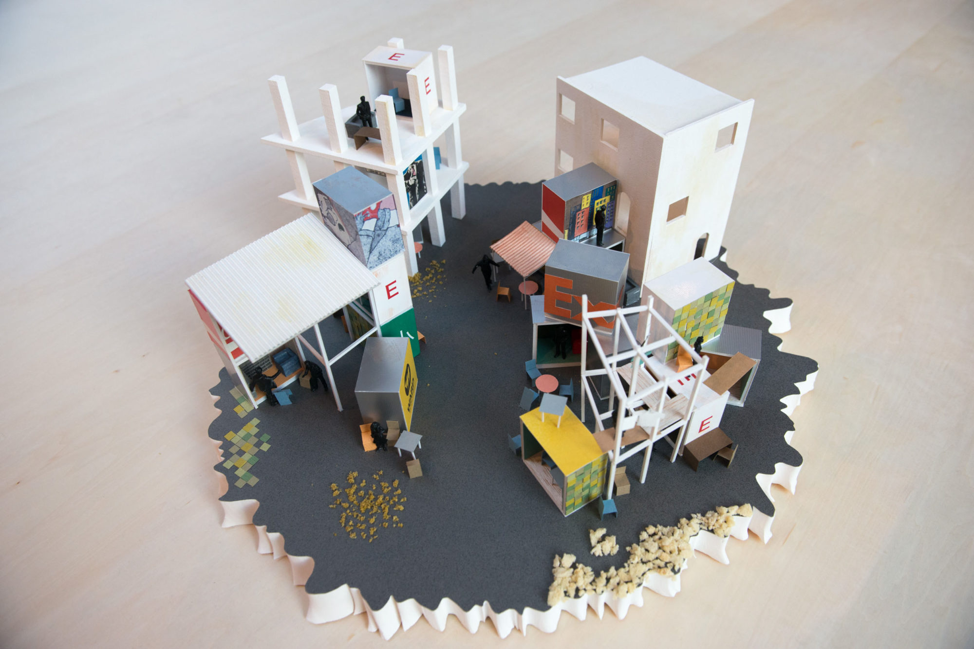 """Donation Design"" Exhibition in Red-Cross Japan"