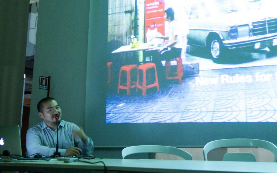Lecture in Catania