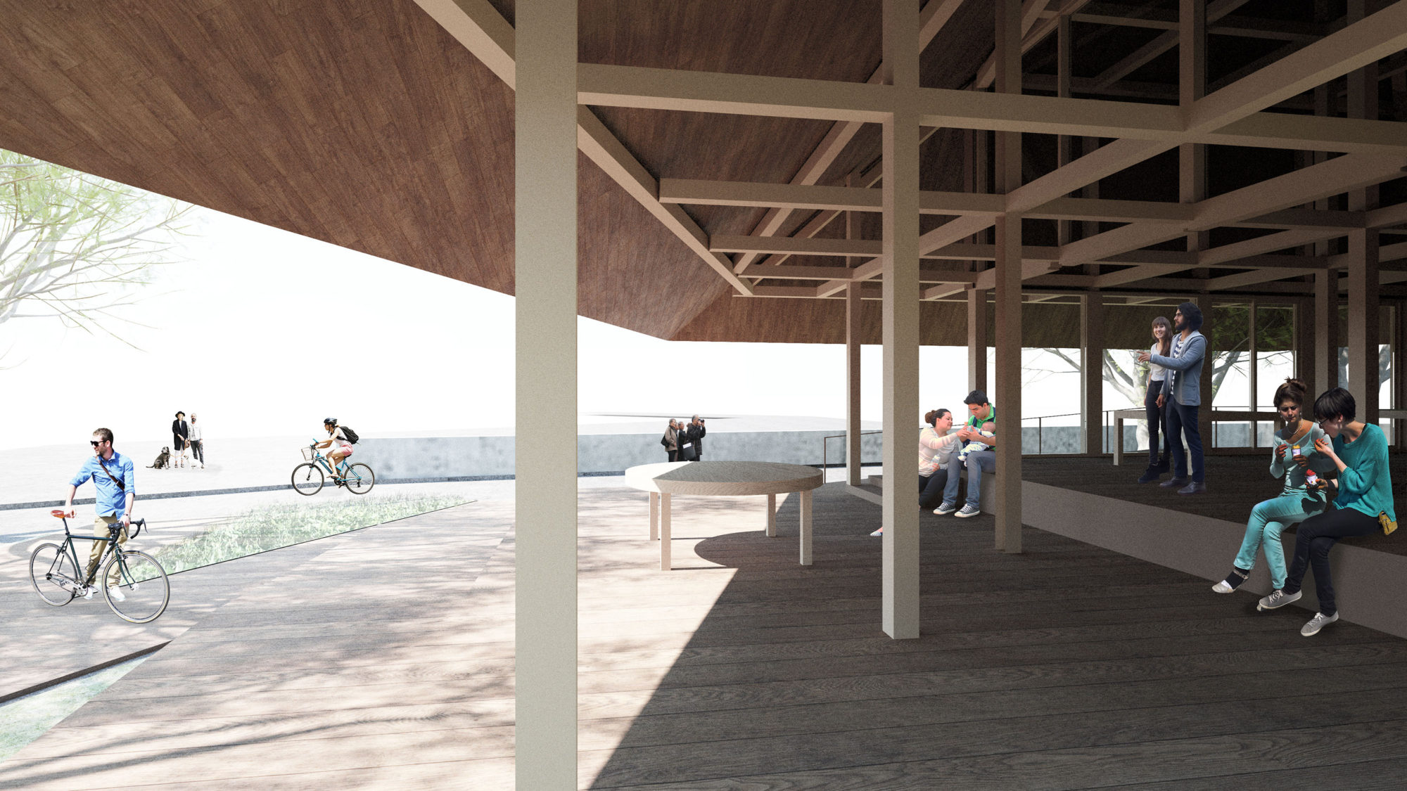 Yawatahama Oshima Community House Competition by Mosaic Design