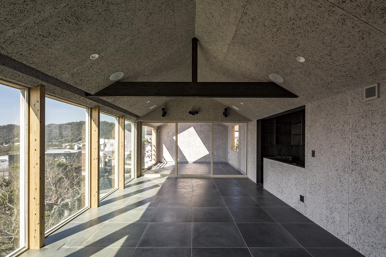 Panorama House パノラマハウス Mosaic Design モザイクデザイン 中村航 Ko Nakamura 葉山 住宅 Hayama Residence