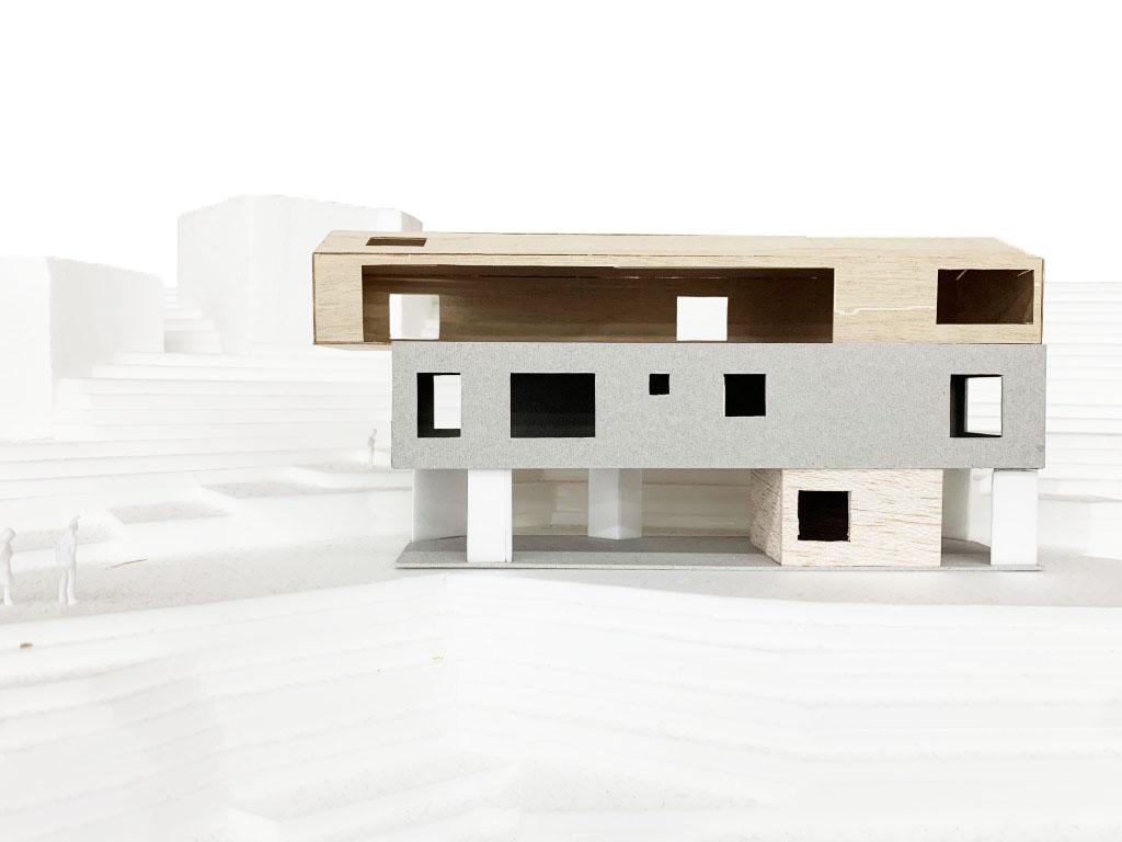 Panorama House パノラマハウス Mosaic Design モザイクデザイン 中村航 Ko Nakamura 葉山 住宅 Hayama Residence 建築模型
