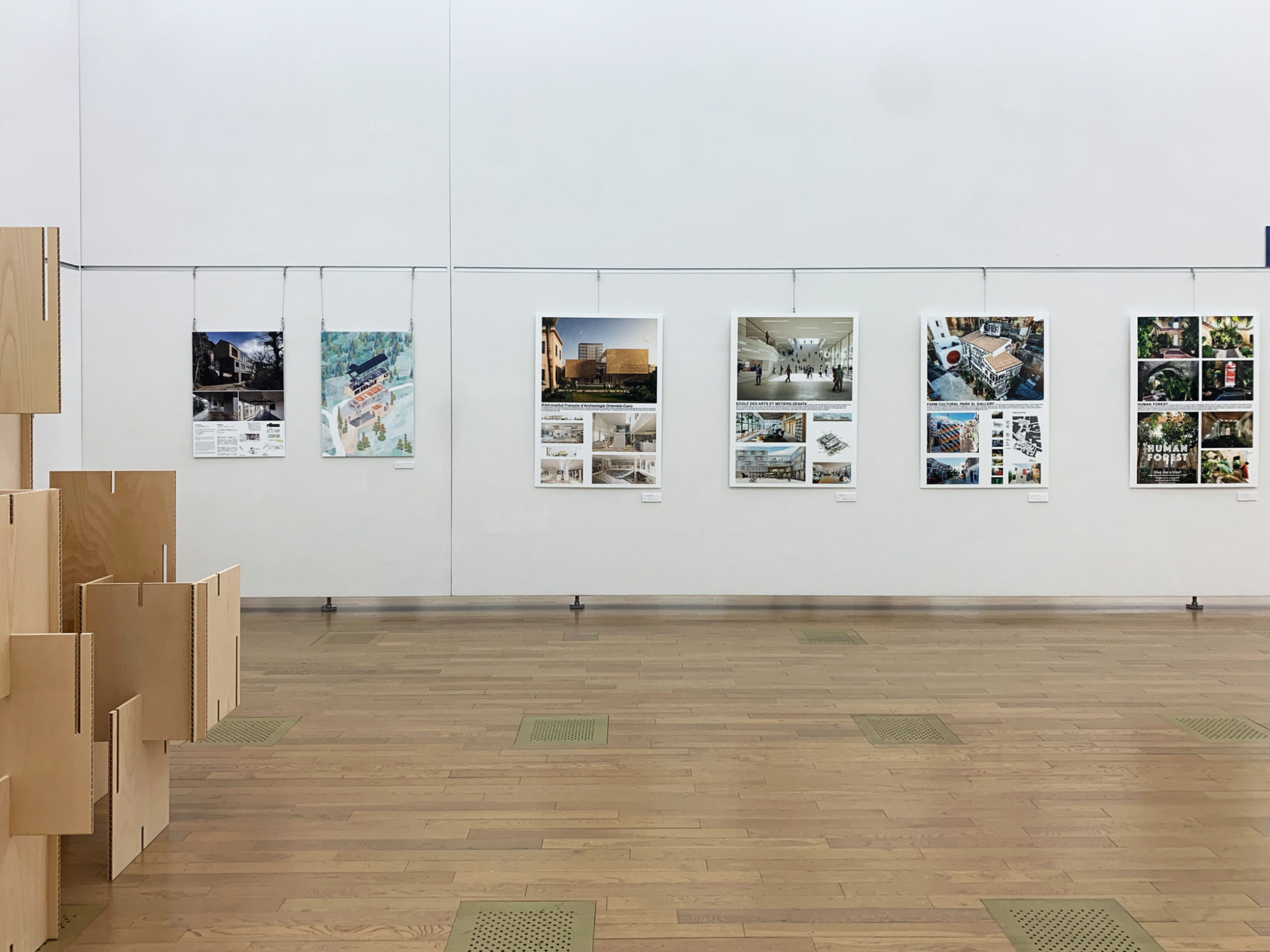 Photo_Exhibition_02 Panorama House House in Hayama Mosaic Design Ko Nakamura 中村航 国立新美術館 日本・フランス現代美術世界展 2021